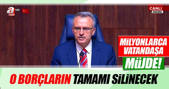 Maliye Bakanı Ağbal yeni düzenlemenin ayrıntılarını açıkladı