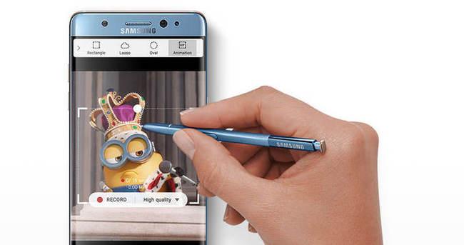 Samsung Galaxy Note 7'nin şaşırtıcı yeni özelliği