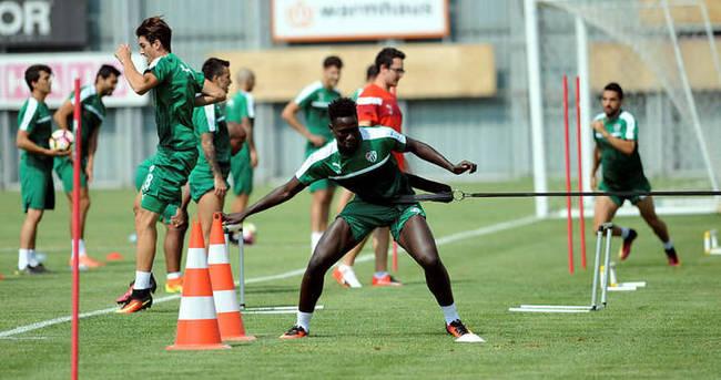 Bursaspor'da Dzsudzsak antrenmana çıkmadı