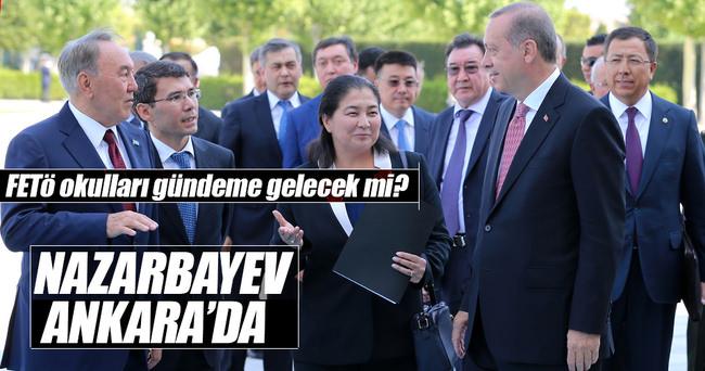 Kazakistan Cumhurbaşkanı Ankara'da