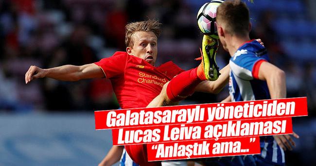 Galatasaray'dan Lucas ve Tolga açıklaması!