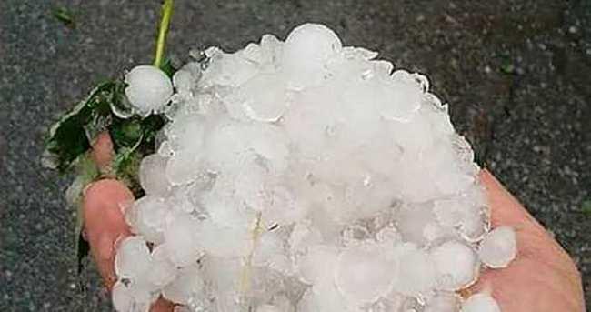 Meteoroloji'den dolu yağışı uyarısı