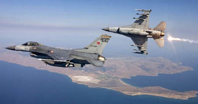 PKK'ya ait 10 hedefe hava harekatı düzenlendi