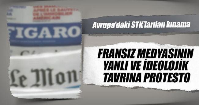 Strazburg'da Türk STK'lardan Fransız basınına kınama