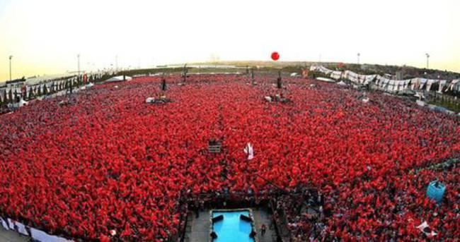 Yenikapı Demokrasi ve Şehitler Mitingi saat kaçta? (7 Ağustos)