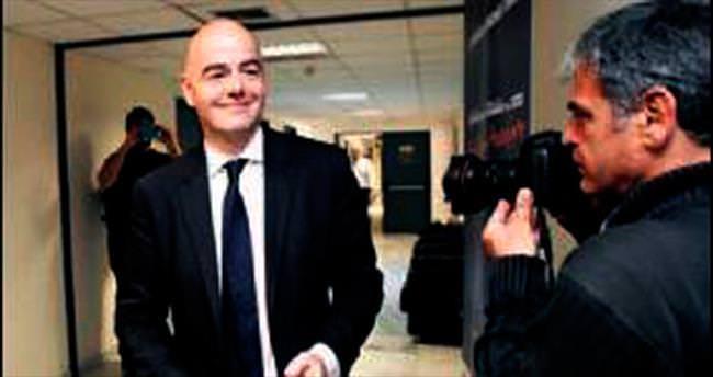 FIFA Başkanı İnfantino aklandı