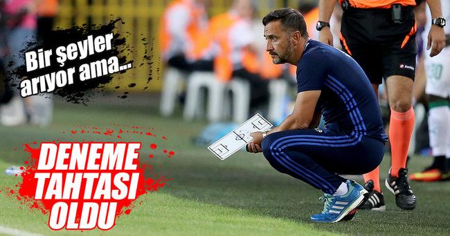 Pereira, Fenerbahçe'yi deneme tahtasına çevirdi