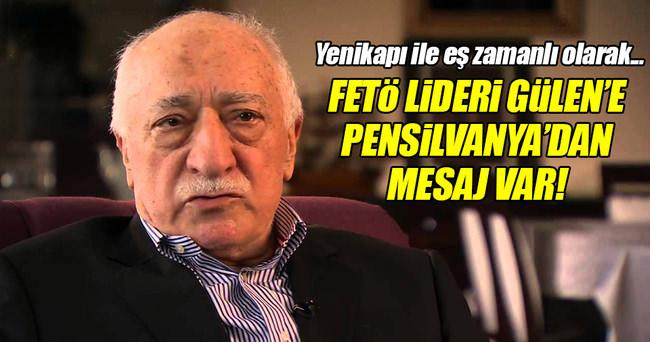 Pensilvanya'da FETÖ lideri Gülen'e şok!