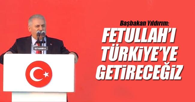 Başbakan Yıldırım: Türkiye'nin mikroplarından temizlendiği gündür