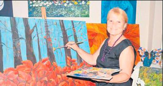 Ressam Uraz'ın sergi heyecanı