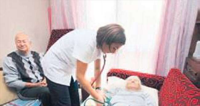 Yaşlı ve engellilere evde sağlık desteği