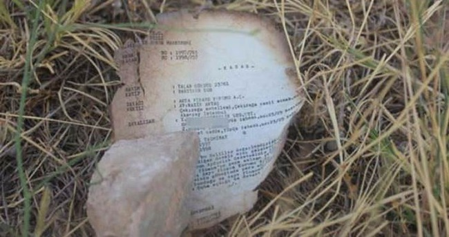 FETÖ elebaşının ismi, yanmış belgeler arasında!