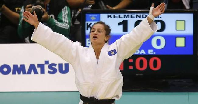 Kosova'nın ilk altın madalya sevinci