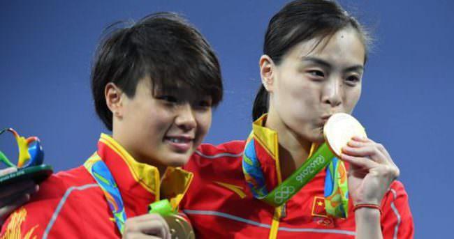 Çin madalyaları topluyor