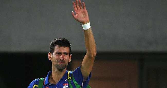 Djokovic, Rio'ya ağlaya ağlaya veda etti