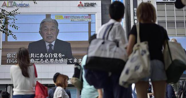 Japon İmparator Akihito, tahtı bırakmak istediğini açıkladı