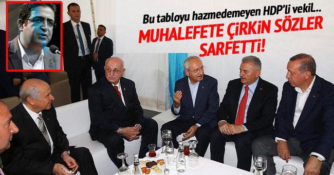 Baluken: Bahçeli, Erdoğan'ın yedek lastiği gibi