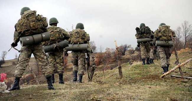 'Boralar' timi kaçan PKK'lıların peşinde