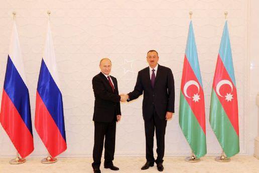 Rusya Devlet Başkanı Putin Azerbaycan'da