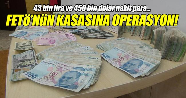 Gaziantep'te FETÖ/PDY'nin kasasına operasyon!