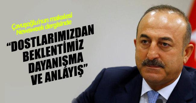 Çavuşoğlu'nun makalesi Newsweek dergisinde