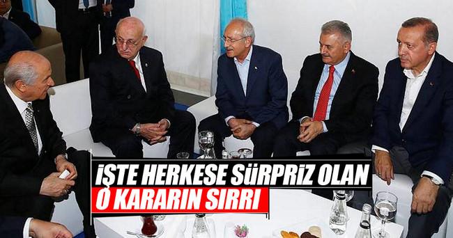 Yenikapı'daki Org. Akar sürprizinin sırrı