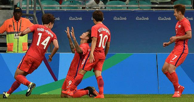 Trabzonspor'un golcüsü hesabı Rio'da açtı