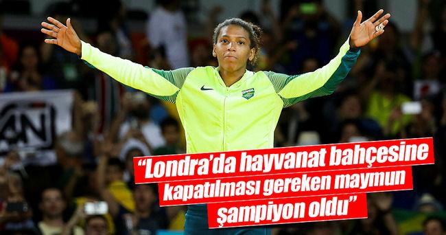 Brezilya'nın ilk madalyası ırkçılık kurbanı o judocudan!