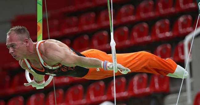 Hollandalı cimnastikçi, Rio'dan kovuldu