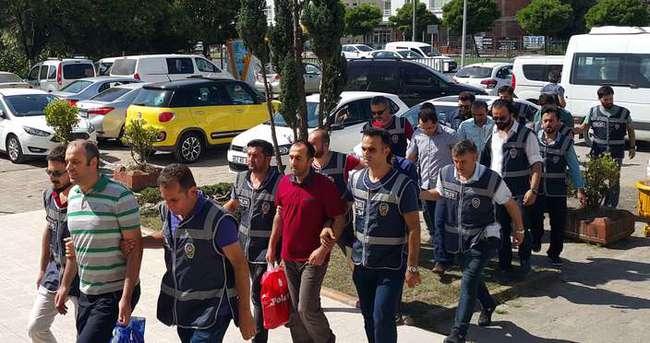 Ordu'da FETÖ soruşturmasında 12 zabıt katibi adliyeye sevk edildi