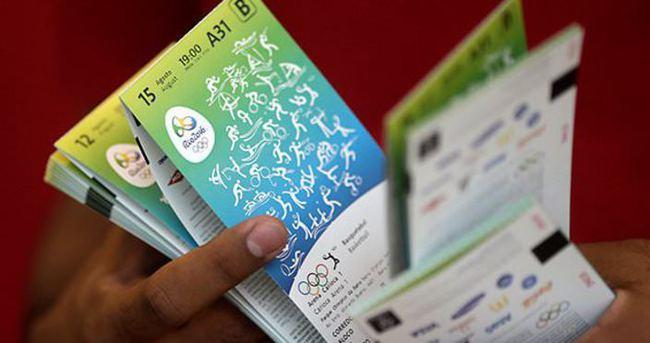 Rio'da sahte bilet gözaltısı!