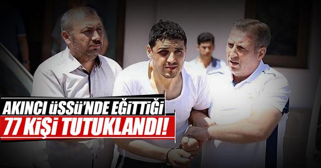 Akıncı Üssü'nde 77 tutuklama