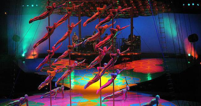Cirque du Soleil Ekim'de İstanbul'da sahne alacak