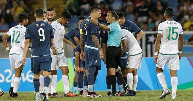 Irak-Güney Afrika maçı Cüneyt Çakır'ın