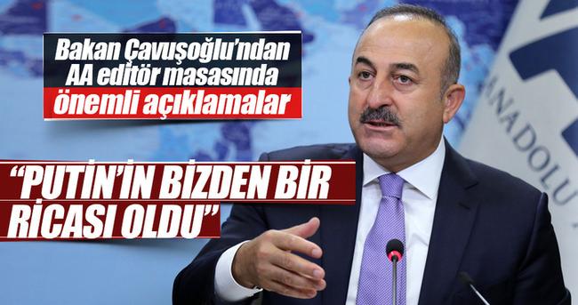 Dışişleri Bakanı Çavuşoğlu Editör Masası'nın konuğu oldu