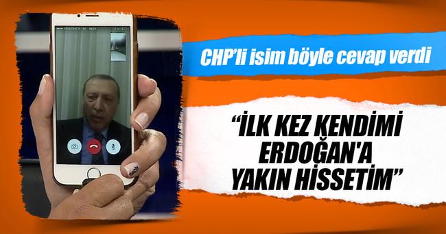 CHP'li katılımcı: İlk kez kendimi Erdoğan'a yakın hissetim