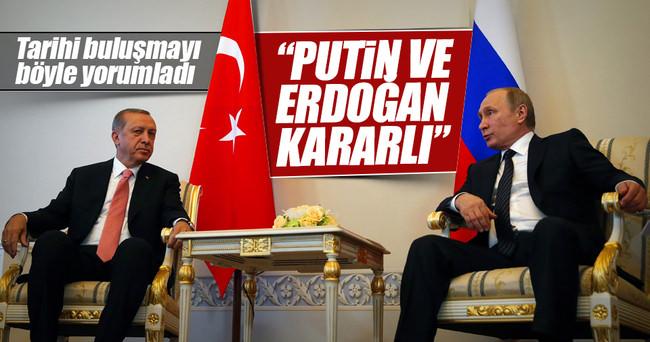 Cumhurbaşkanı Erdoğan-Putin görüşmesi Rus basınında