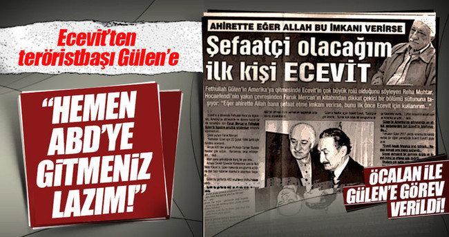 Bülent Ecevit Fetullah Gülen'e nasıl yol gösterdi?
