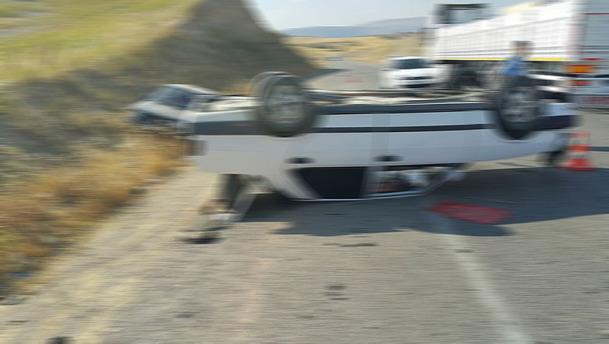 Adıyaman'da otomobil devrildi: 5 yaralı