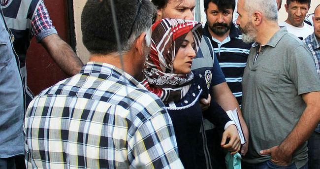 Evine zorla girmeye çalışan tesisatçıyı öldüren kadın tutuklandı