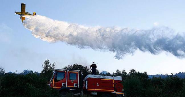 Fransa'nın güneyi yanıyor