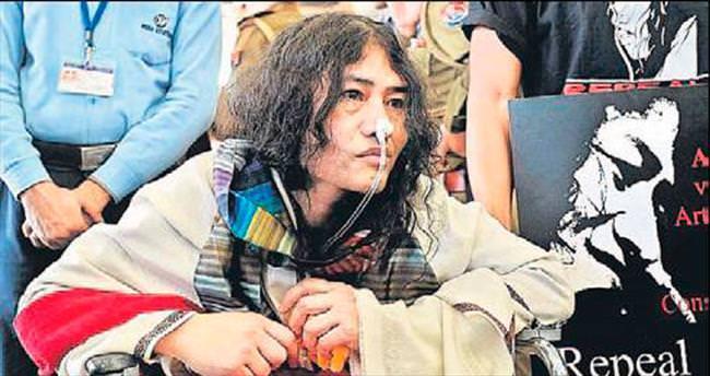 16 yıl süren açlık grevini balla bitirdi