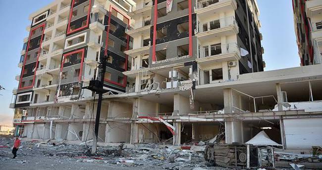 Mardin'deki patlamanın şiddeti gün ağarınca ortaya çıktı