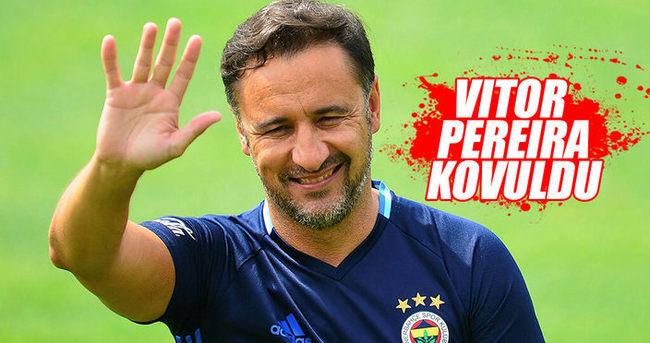 Fenerbahçe'de Pereira dönemi sona erdi!