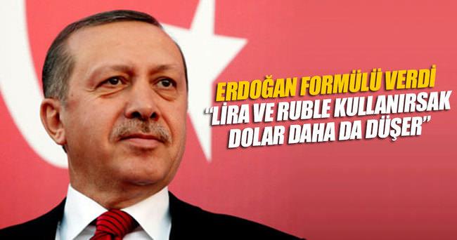 Lira ve ruble kullanırsak dolar daha da düşer