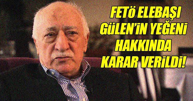 FETÖ elabaşı Gülen'in yeğeni Korucuk'a tutuklama!