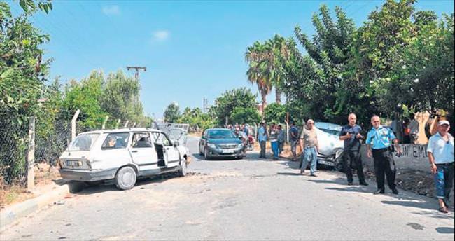 Mersin'de kaza: 1 ölü, 3 yaralı