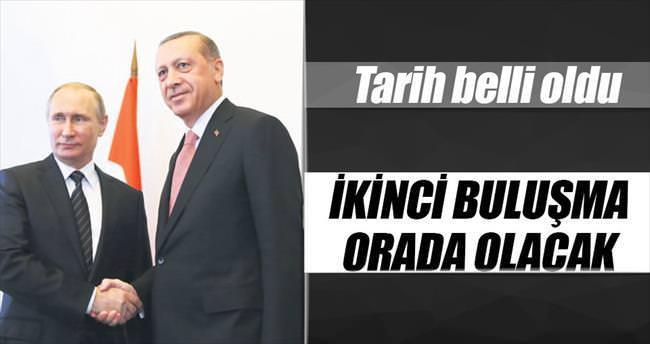 Erdoğan ve Putin G-20'de görüşecek