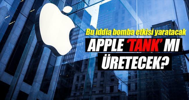 Apple 'tank' mı üretmeye başlıyor?