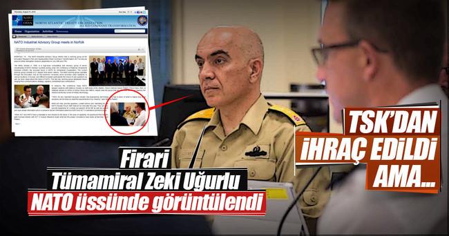 Firari Tümamiral Zeki Uğurlu NATO üssünde